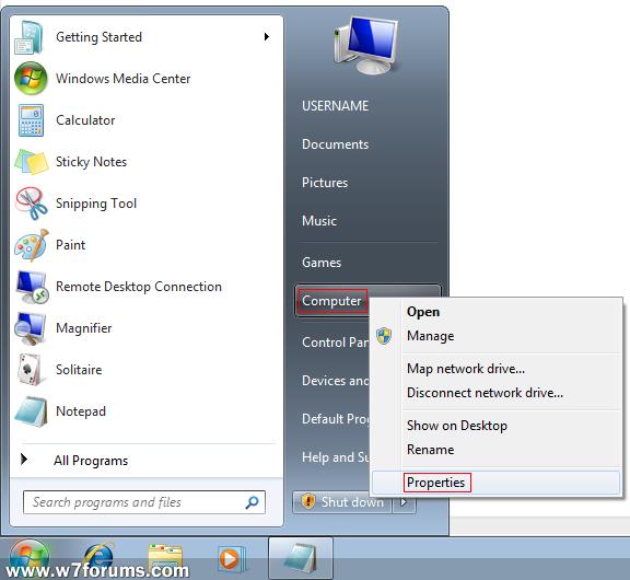 changing product key windows 7