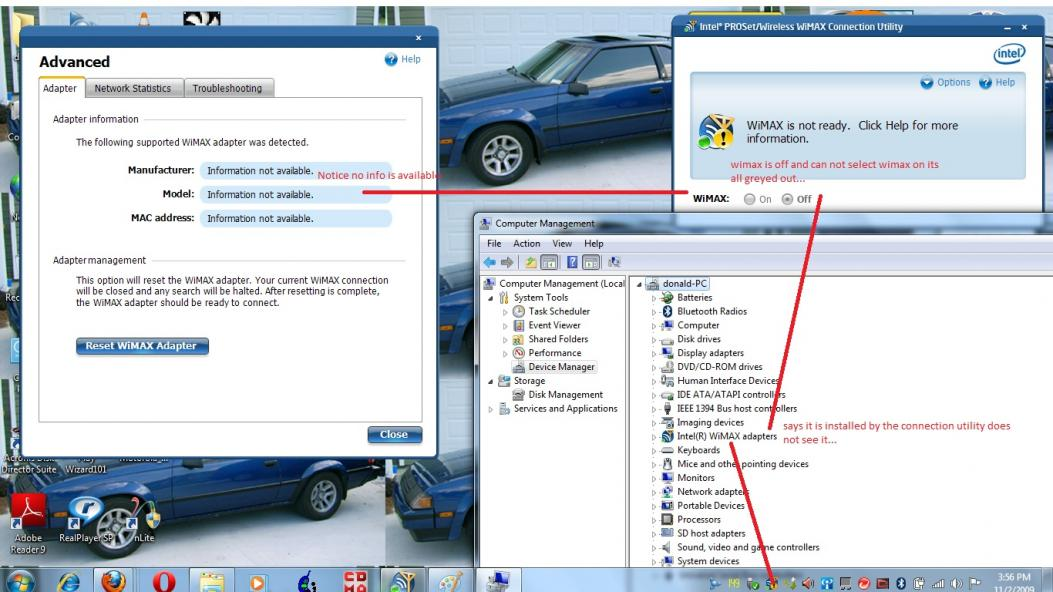 Wimax driver download